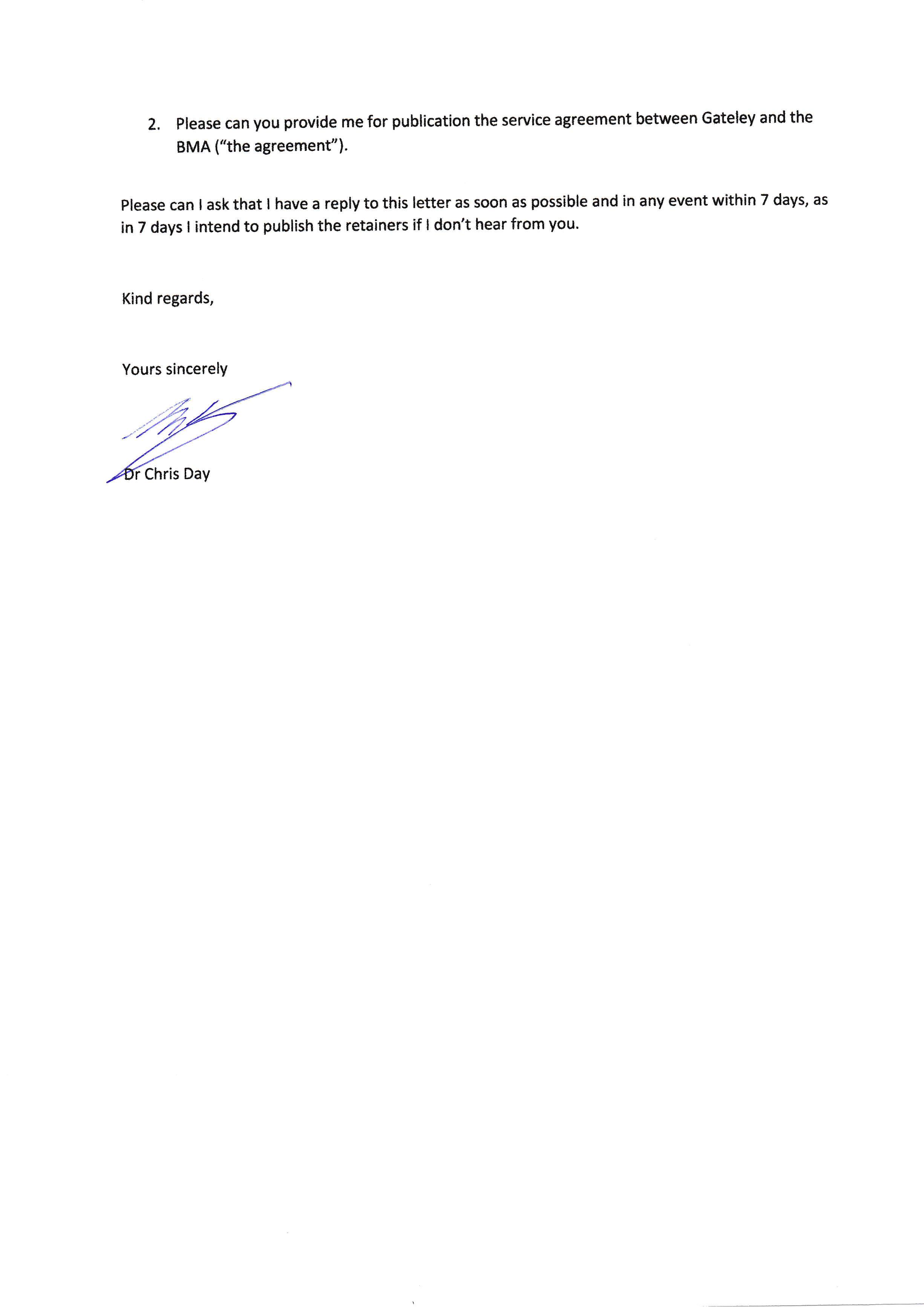 open letter to gateley plc managing partner